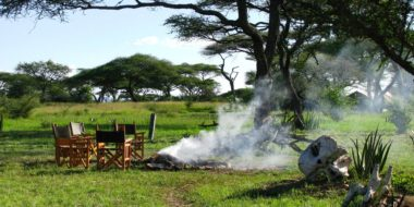 Mapito Tented Camp, Gelände