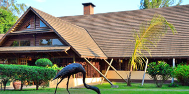Arumeru River Lodge, Außenansicht