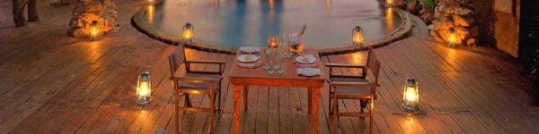 Grumeti River Camp – Dinner