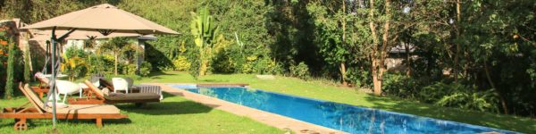 Lake Duluti Lodge, Pool