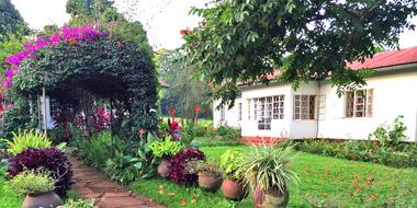 Marangu Hotel, Garten
