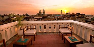 Maru Maru Hotel Zanzibar, Veranda Aussicht