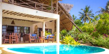 Milele Villas Pool