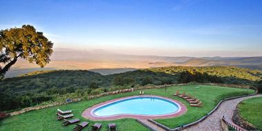 Ngorongoro Sopa Lodge, Pool