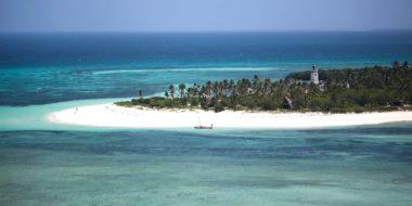 Fanjove Private Island, Ansicht aus der Luft