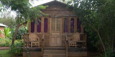 Octagon Lodge, Wohnbeispiel