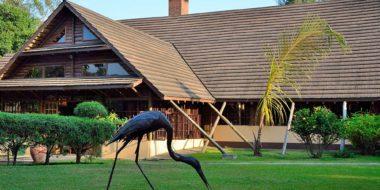 Arumeru River Lodge, Hauptgebäude