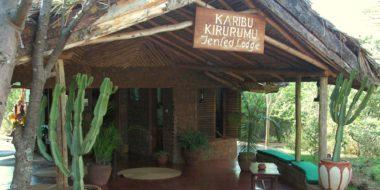 Kirurumu Manyara Lodge, Eingang
