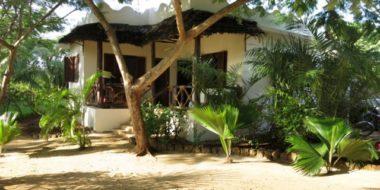 Milele Villas, Gartenanlage