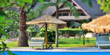 Arumeru River Lodge, Poolbereich