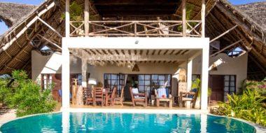 Milele Villas, Poolbereich