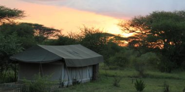 Mapito Tented Camp, Sonnenaufgang