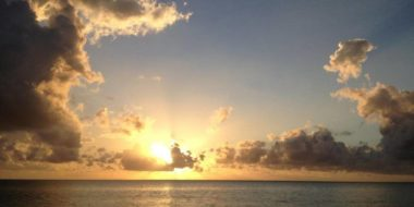 Casa del Mar, Sonnenuntergang