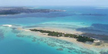Chapwani Private Island, Luftansicht