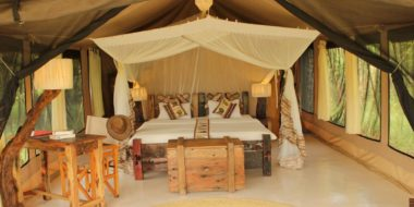 Mapito Tented Camp, Zelt-Inneres