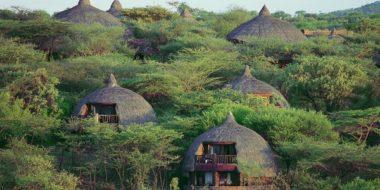 Serena Safari Lodge, Ansicht aus der Luft