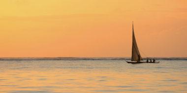 Zanzibar Retreat Hotel, Sonnenuntergang