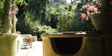 Udzungwa Falls Lodge, Gartenbereich