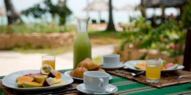 Breezes Beach Club, Frühstück