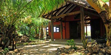 KIA Lodge, Gartenbereich