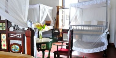 Dhow Palace Hotel, Schlafzimmer