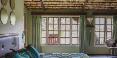 Hatari Lodge, Schlafraum