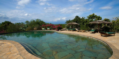 KIA Lodge, Poolbereich