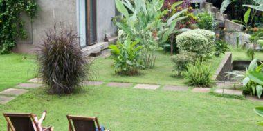 Kaliwa Lodge, Gartenbereich
