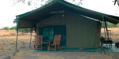Lake Natron Halisi Camp, Zeltbeispiel