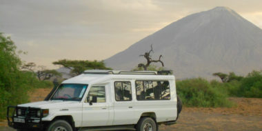 Lake Natron Halisi Camp, Ol Doinyo Lengai