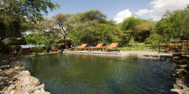 Lake Natron Tented Camp, Natürlicher Pool
