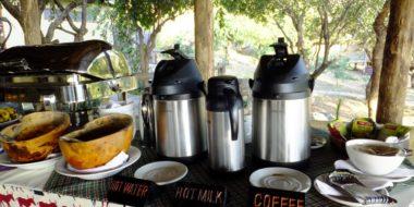 Sangaiwe Tented Lodge, Buffet