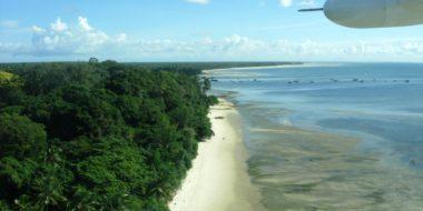 Mafia Island, Luftansicht