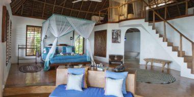 Matemwe Lodge, Wohnraum