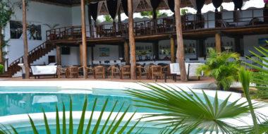 My Blue Hotel, Poolbereich