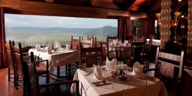 Ngorongoro Serena Safari Lodge, Speisesaal
