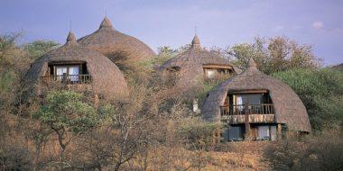 Serena Safari Lodge, Wohngebäude