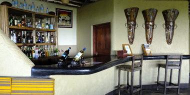 Sangaiwe Tented Lodge, Bar