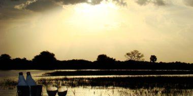 Selous Wilderness Camp, der Selous River