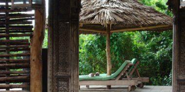 Selous Wilderness Camp, Entspannungsbereich