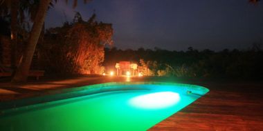 Selous Wilderness Camp, Pool
