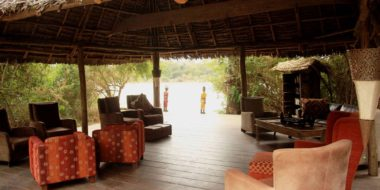 Selous Wilderness Camp, Lounge