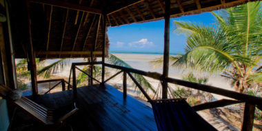 Simply Saadani Camp, Ausblick aufs Meer