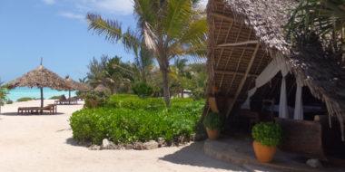 The Zanzibari Hotel, Außenbereich