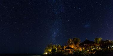 The Zanzibari Hotel, Nachthimmel über Sansibar