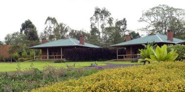 Tloma Lodge, Außenbereich