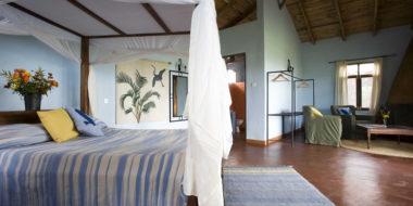 Tloma Lodge, Wohnbereich