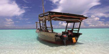 Chapwani Private Island, Strand