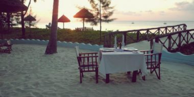 Butiama Beach, Private Dinner