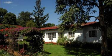 Marangu Hotel, Gartenanlage